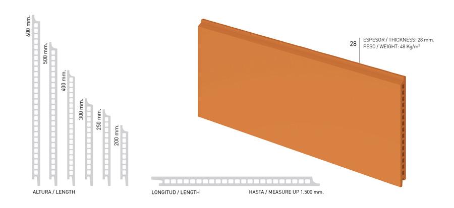 Керамическая фасадная плита Faveton типа Ceram