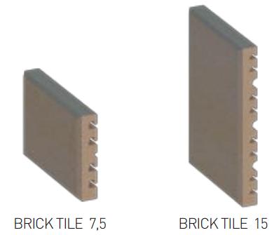 Клинкерная плитка Faveton Brick Tile