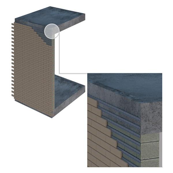Система механика Brick-tile
